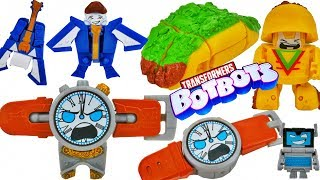Transformers Botbots Series 2 Rare Characters 8 Packs Taco Computer Watch