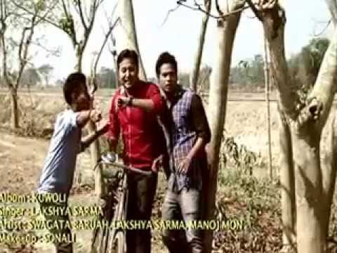 New Assamese Video Song - Aakhoi Phute By Lakshya Sarma(album-kuwoli) video