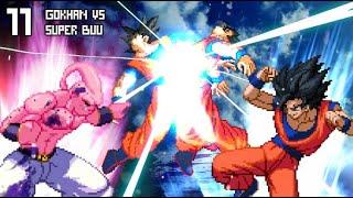 [What-If] Gohan Caught The Potara Earring...! Gokhan VS Super Buu.