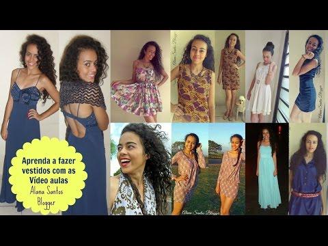Aprenda a costurar vários  vestidos com Alana Santos Blogger