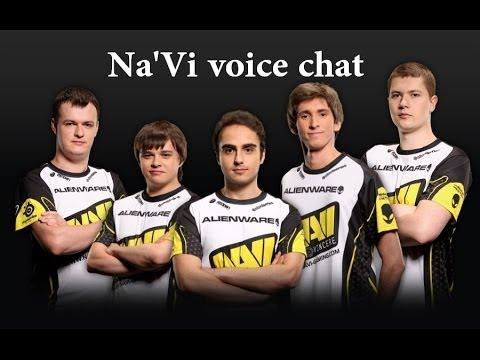 Мысли Na'Vi во время игры. [Team voice chat Na'vI]