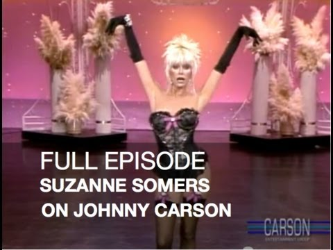 JOHNNY CARSON FULL EPISODE: Suzanne Somers, Kaleena Kiff, Tonight Show, 1982