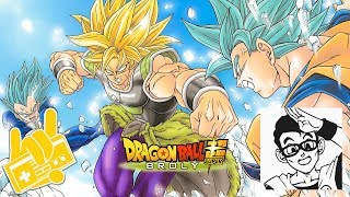 Dragon Ball Super Broly Blizzard Daichi Miura Trailer 3 English Feat Masakox