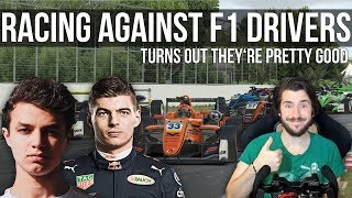 I Got To Race Against FORMULA 1 Drivers!!!