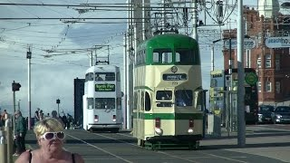Bank Holiday Blackpool Trams - Sunday 28th August 2016