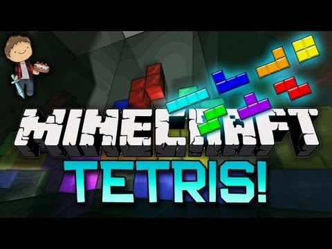 Minecraft: TETRIS WITH A TWIST! Mini-Game w/Mitch & Friends!