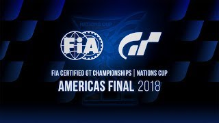 [English] FIA GT Championships 2018 | Nations Cup | Americas Final