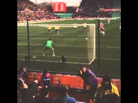 Stoke city v arsenal Walters penalty 1-0