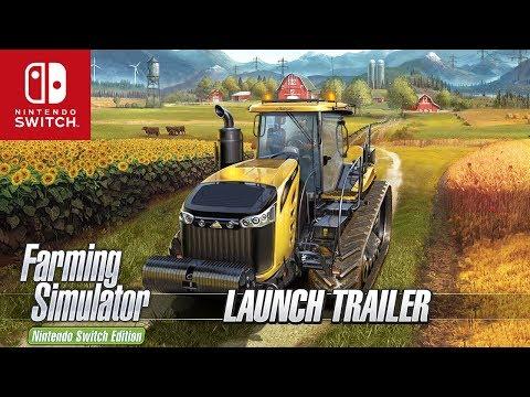 Farming Simulator Nintendo Switch Edition - Official Launch Trailer