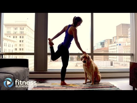 Chill Out! Stretching Yoga Workout for Flexibility and Calm - Warm Up or Cool Down Workout