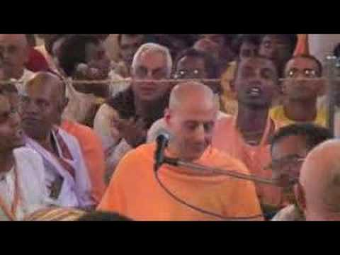 Hare Krishna Kirtan By Radhanath Swami - Iskcon Tirupati - January 31,  2007 video