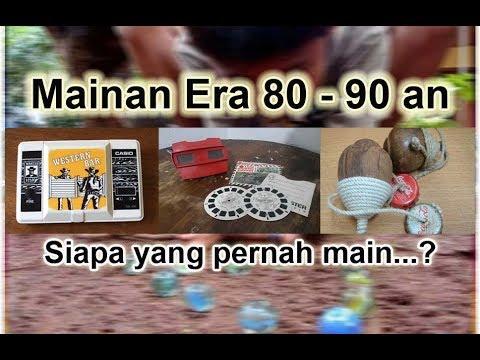 Mainan Anak-anak Era 80 90an