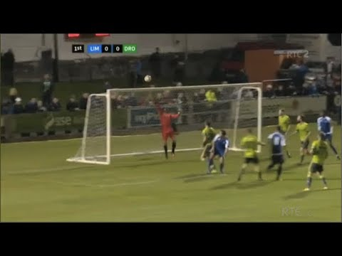 Deasy Sent Off - Limerick 1-0 Drogheda United - 14th October 2017
