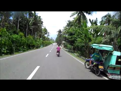 Cebu City to Dumaguete, Negros Island ~ Video 1 ~Philippines Tourism ~ Motorcycle Adventures