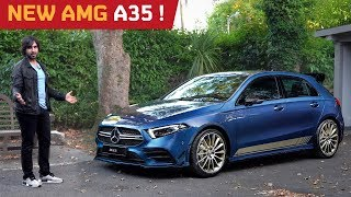 Mr.AMG on the A35! First look at AMG's Entry Level Beast! + A45 update