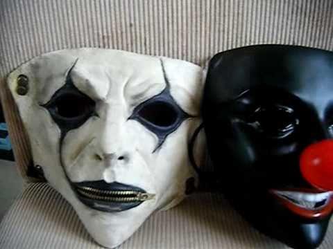 Slipknot All Hope Is Gone Jim Root Mask&Clown Mask