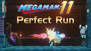 Mega Man 11 - BlockMan Stage Perfect Run (No Damage)
