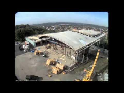 Building Construction Timelapse | EMPAC