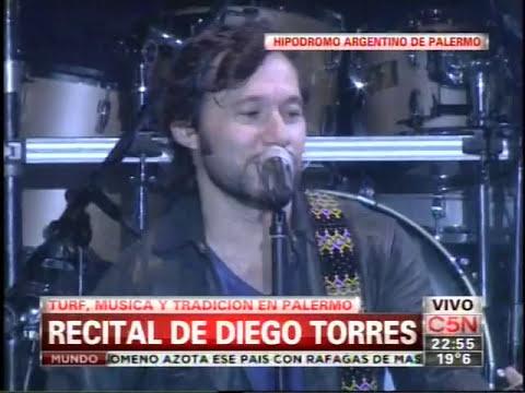C5N - MUSICA: RECITAL DE DIEGO TORRES EN EL HIPODROMO ARGENTINO DE PALERMO