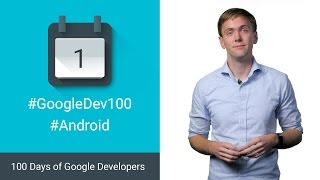 Android Design Support Library 100 Days of Google Dev