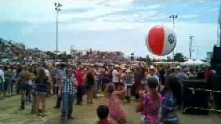 Beachball action at Countryfest!