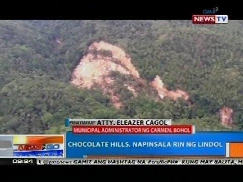 NTG: Chocolate hills, napinsala rin ng lindol