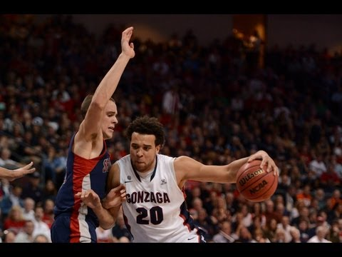 Elias Harris Leads Gonzaga to WCC Championship