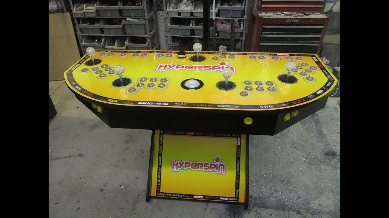 4 player arcade pedestal plans