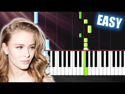 Download Lagu Clean Bandit - Symphony feat. Zara Larsson - EASY Piano Tutorial by PlutaX MP3 Free