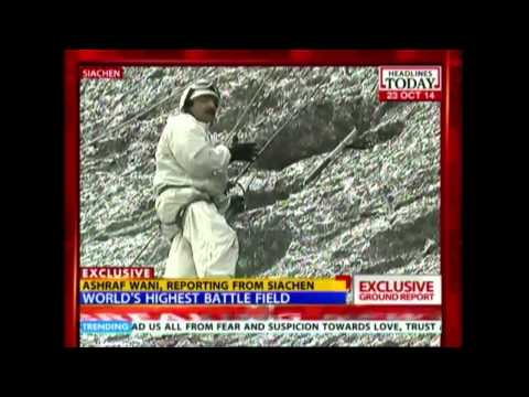 Reality check from world's highest battle field (at 18,000 ft) in Siachen
