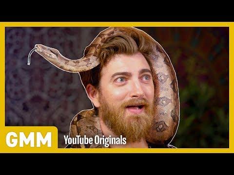 We Try Snake Yoga