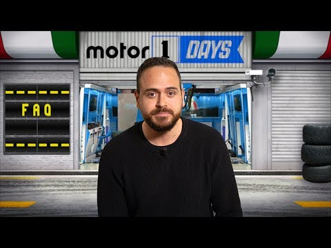 Rispondiamo alle vostre domande | Motor1Days 2018