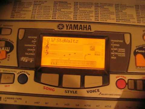 Yamaha Portatone music styles - part 2 of 2