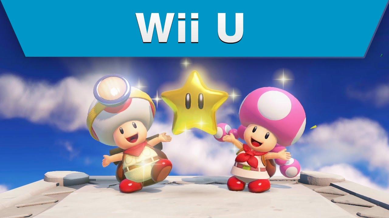 Wii U Game Trailer : Wii u captain toad treasure tracker trailer youtube