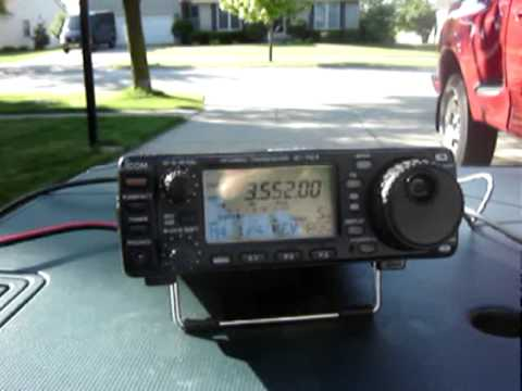 ICOM 703 Field Antenna Test