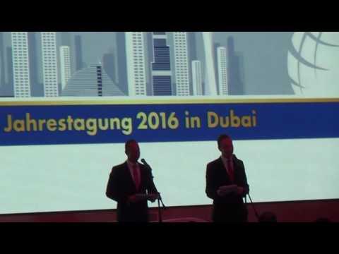 Jahrestagung Best-Reisen Dubai mit Hubert Fella und Matthias Reisebüro Fella 1