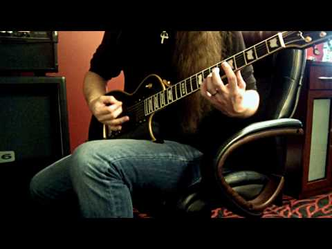 Bark at the Moon Ozzy Osbourne Jake E Lee Guitar Cover. Best viewed in HD 720p