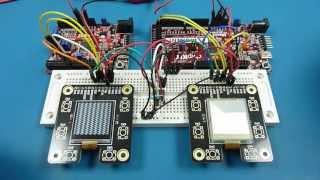 Sharp Memory LCD Comparison HR-TFT vs PNLC