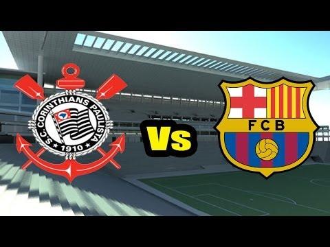 Fifa 2014 - Corinthians x Barcelona