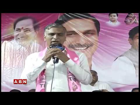 Minister Harish Rao Participates in Public Meeting At ZaheeraBad | ABN LIVE