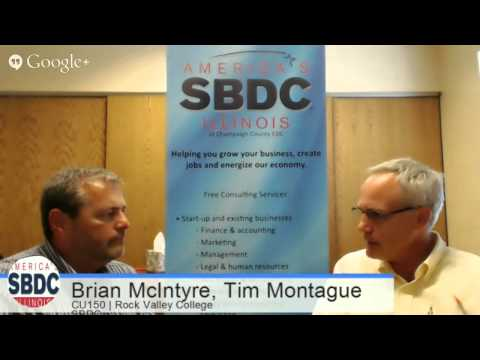 Brian McIntyre of Rock Valley College SBDC - CU150 Ep. 21