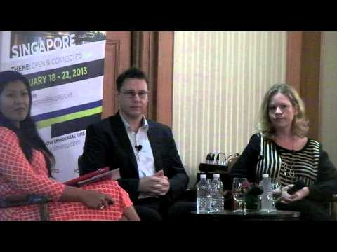 SMW 2013 Day 1  part 2 - Samsung and Google Q & A Update by Robin Stienberg, National Critics Choice