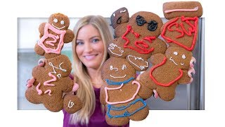 Making YouTuber Gingerbread Cookies!