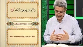 Rahman Suresi Meali 1. Sayfa