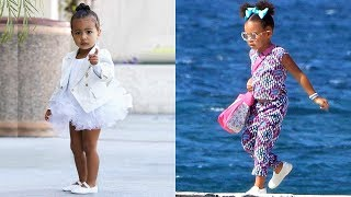 Kim Kardashian's Daughter vs Beyonce's Daughter - Who Is The Most Fashionable.?  ★ 2017