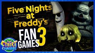 FNAF FAN GAMES - DORMITABIS, FINAL NIGHTS 2, MAC TONIGHT, & MORE - THAT CYBERT CHANNEL