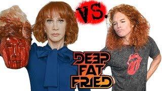 Kathy Griffin vs  Carrot Top = DEEP FAT FRIED (preview)