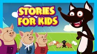 Download Lagu Stories For Kids In English | Big Bad Wolf and More | Short Stories For Children - Story Compilation Gratis STAFABAND