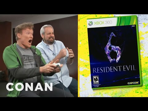 Clueless Gamer: Conan O'Brien Reviews
