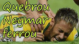 Quebrou Neymar ferrou - Paródia País do Futebol (MC Guimê part. Emicida) - Copa do Mundo 2014